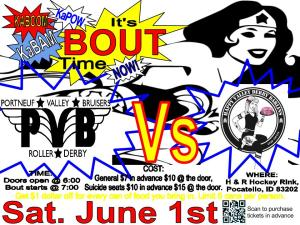 June 1st bout FLYER