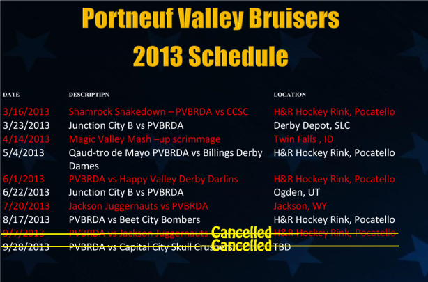 pvb 2013 schedule revised august