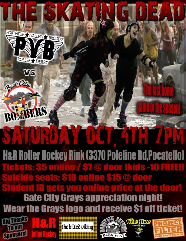 october bout flyer
